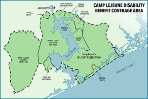 Camp Lejeune Map